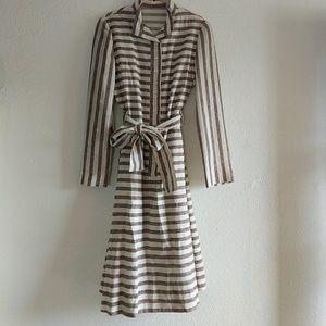 Vintage Rodrigues Linen Dress